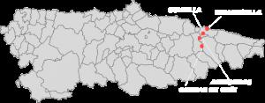 Mapa de instalaciones de Cangas Aventura