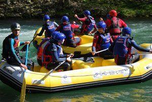 Actividad Rafting Cangas Aventura