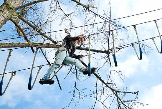 Actividad Parque Aventura Cangas Aventura