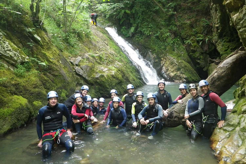 Barranquismo en Asturias con Cangas Aventura