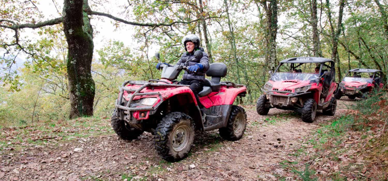Rutas en quad en Asturias con Cangas Aventura