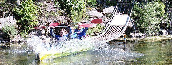 rampa acceso al rio Sella Cangas Aventura