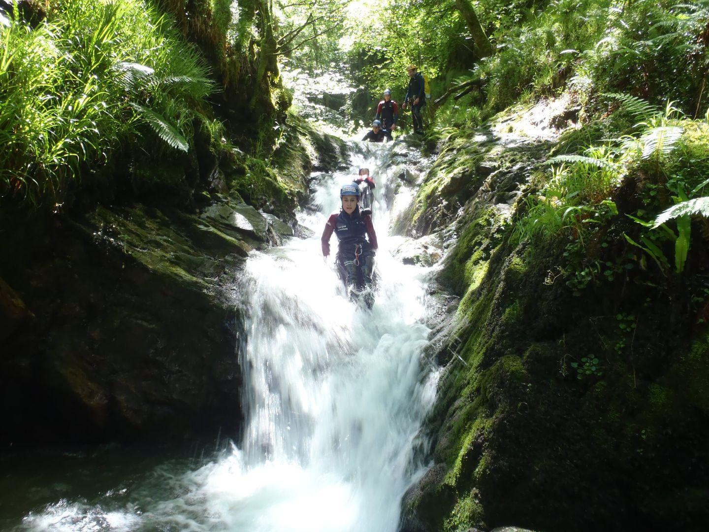Barranquismo en Cangas Aventura