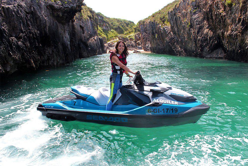 Moto de agua de Cangas Aventura