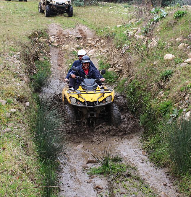Rutas en quad por Asturias.