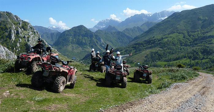 Rutas en quad por Asturias